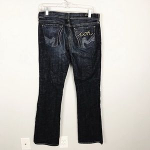 COH Kelly Bootcut Xhandra Embroidered Pocket Jeans